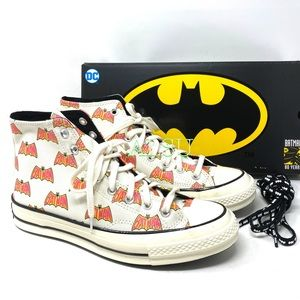 Converse & DC Batman Chuck 70 High Canvas  Egret M